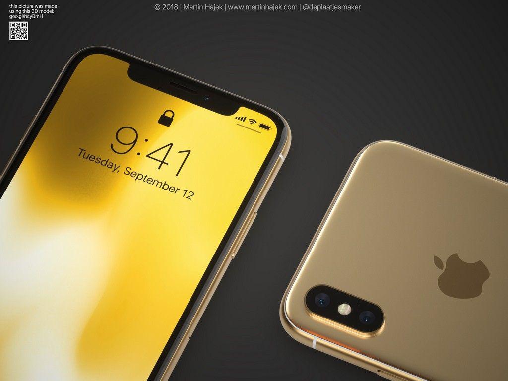 İşte şık tasarımı ile altın renkli iPhone X! - Page 4
