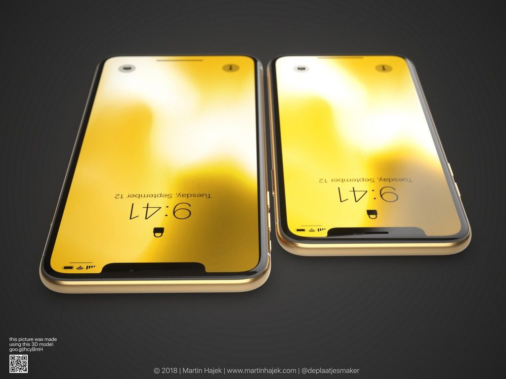 İşte şık tasarımı ile altın renkli iPhone X! - Page 2
