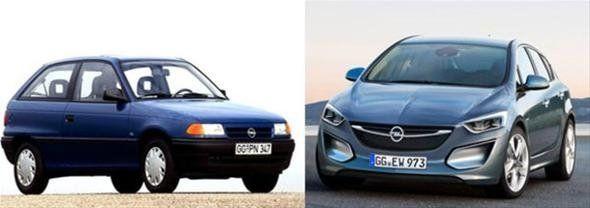 Otomobil modellerinin eski ve yeni hallerini karşılaştırdık - Page 1