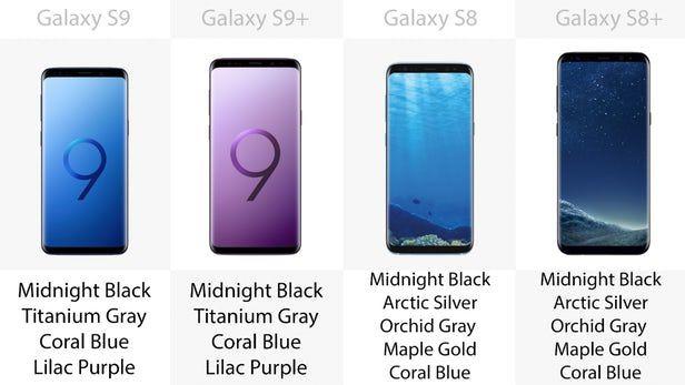 Galaxy S9, S9+ ve Galaxy S8, S8+ karşılaştırma - Page 3
