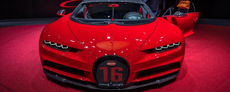 13 milyon TL değerindeki Bugatti Chiron tanıtıldı!