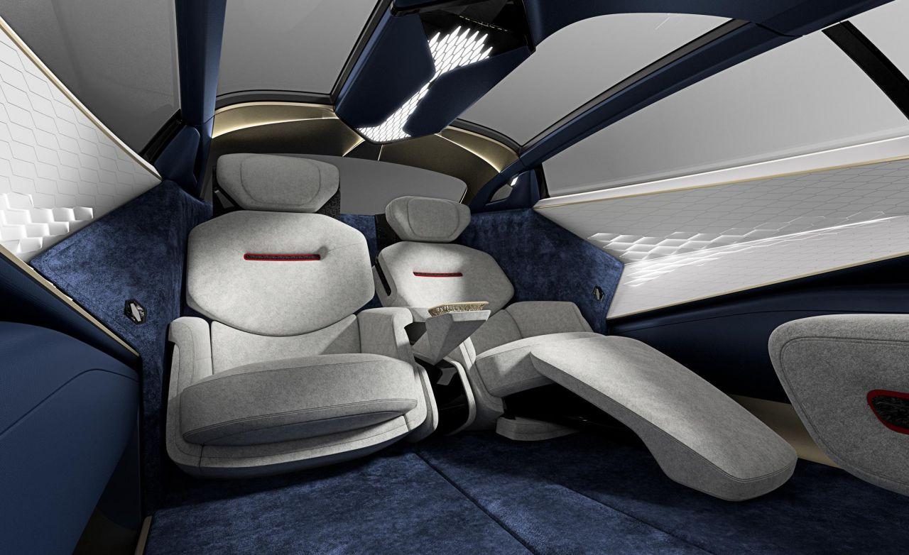 Aston Martin ilk elektrikli konsept otomobili Lagonda Vision - Page 1