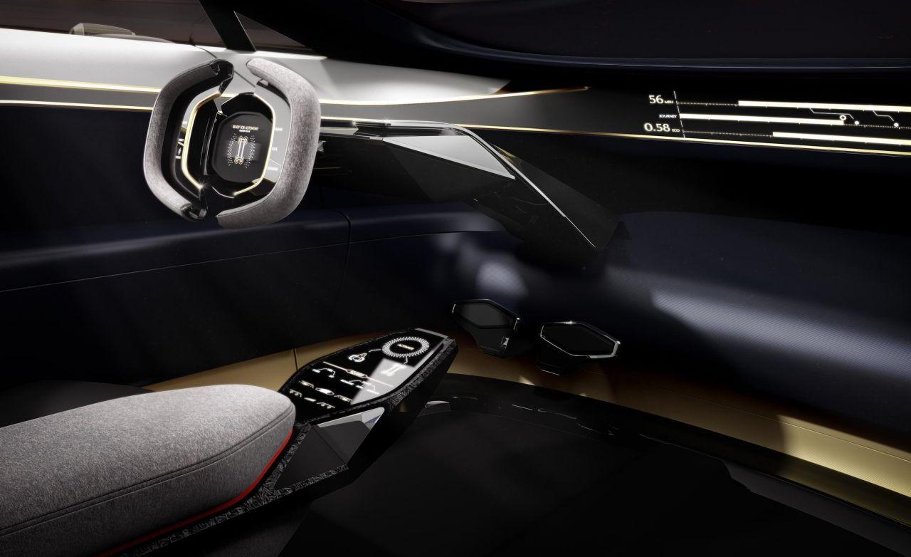 Aston Martin ilk elektrikli konsept otomobili Lagonda Vision - Page 3