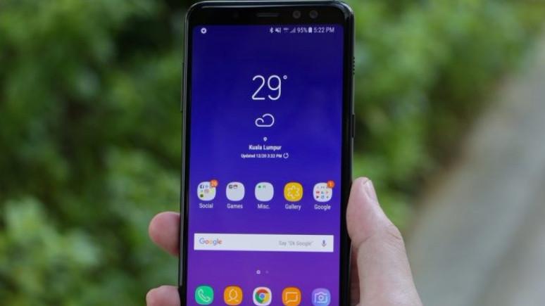 Galaxy A8 (2018) için yeni güncelleme yayınlandı