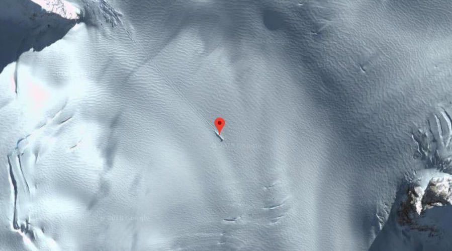 Google Haritalar düşen bir UFO tespit etti - Page 2