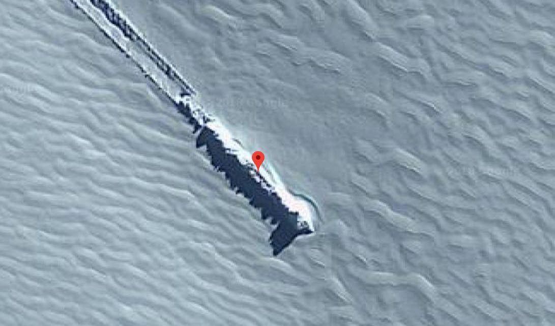 Google Haritalar düşen bir UFO tespit etti - Page 4