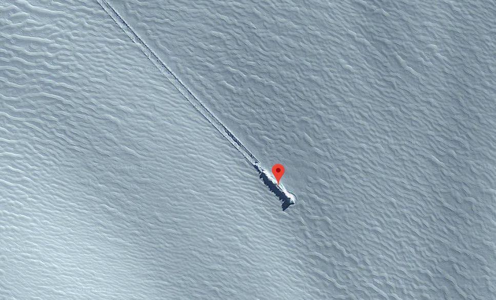 Google Haritalar düşen bir UFO tespit etti - Page 3