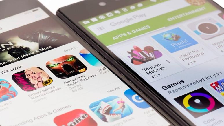 Play Store'un arayüzü değişti!