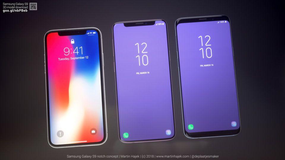 Samsung Apple'ın çentiğini kopyalamış olsaydı S9 nasıl olurdu? - Page 2