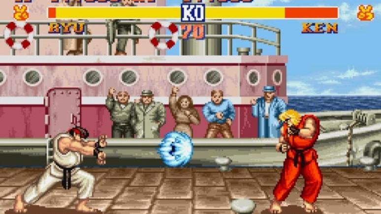 İşte Street Fighter 2 arttırılmış gerçeklik modu!