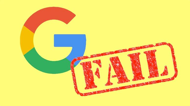 Google kendi telefonunu tanıyamadı!