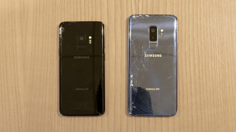 Galaxy S9 düşürme testi (Video)