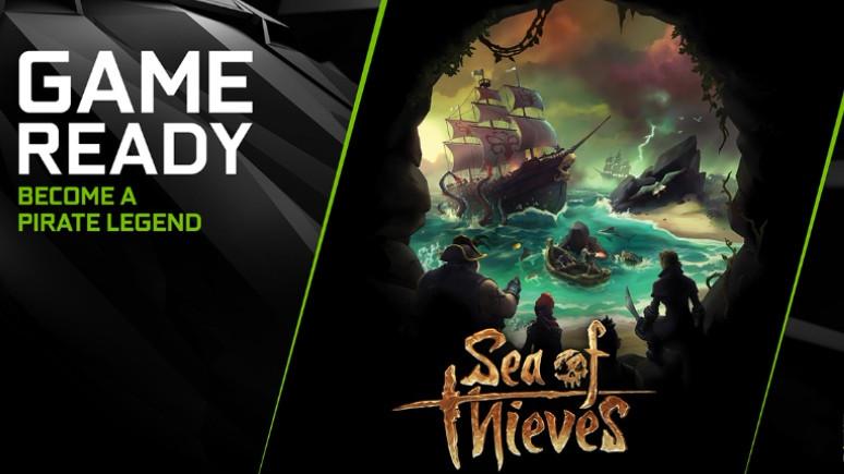 Nvidia'dan Sea of Thieves için yeni güncelleme