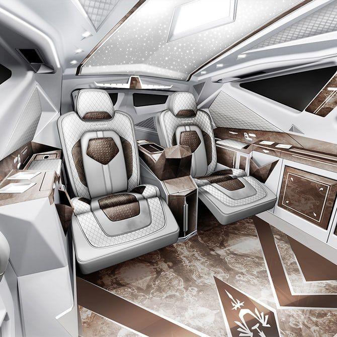 Dünyanın en pahalı SUV'u Karlmann King - Page 4