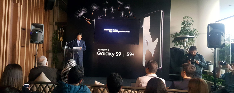 Samsung Galaxy S9 ve S9+  Türkiye'de tanıtıldı