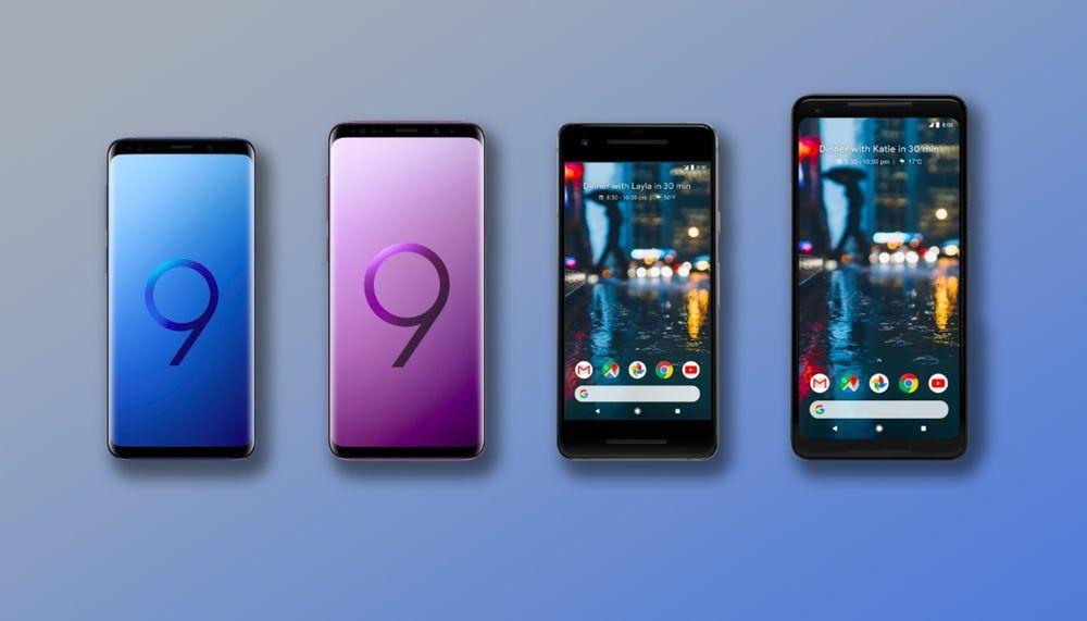 Samsung Galaxy S9 ve S9 + , Google Pixel 2 ve 2 XL'ye karşı - Page 1