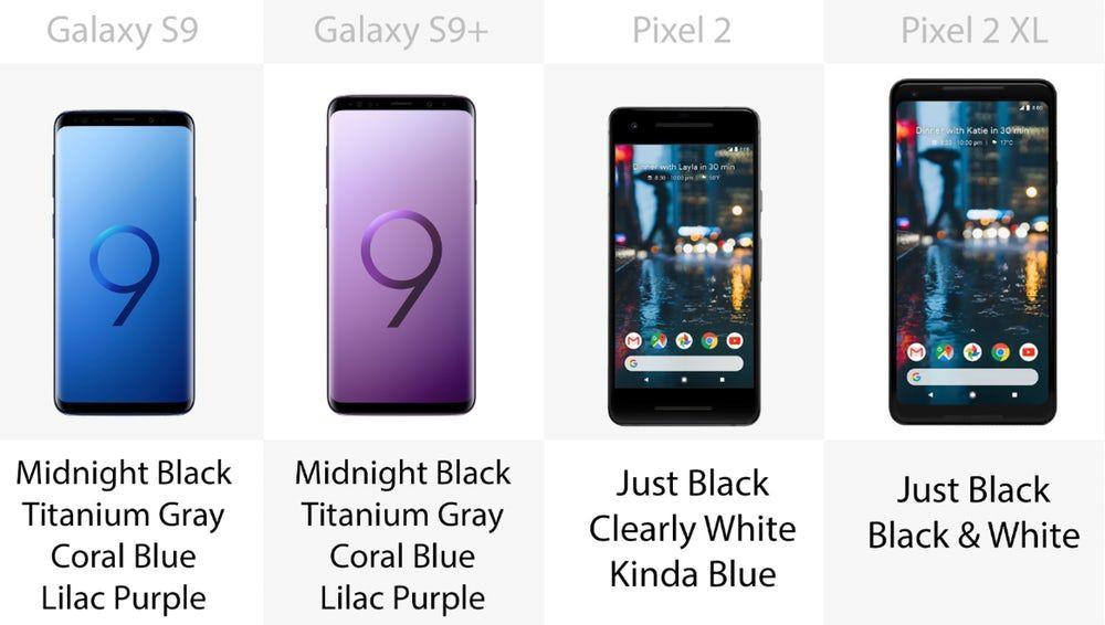 Samsung Galaxy S9 ve S9 + , Google Pixel 2 ve 2 XL'ye karşı - Page 4