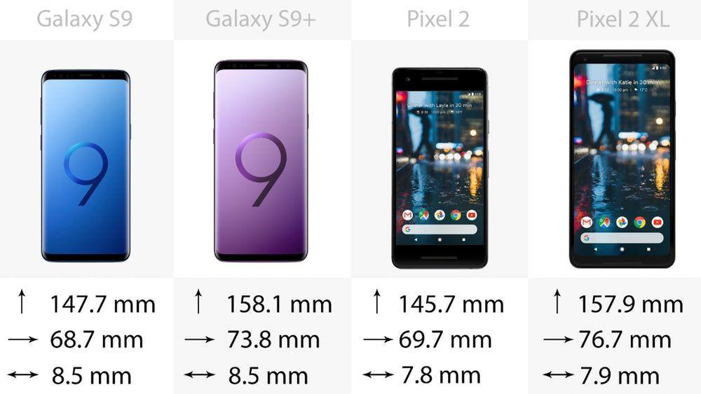 Samsung Galaxy S9 ve S9 + , Google Pixel 2 ve 2 XL'ye karşı - Page 2