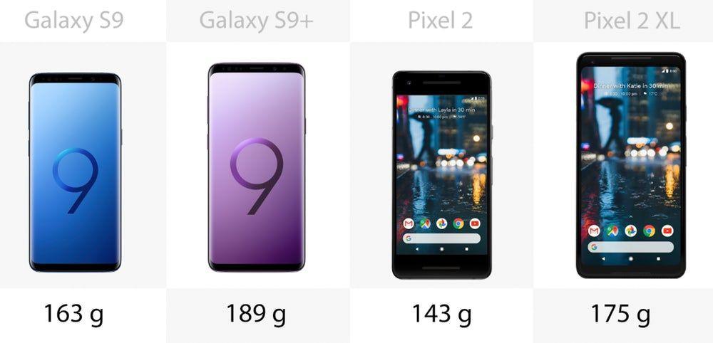Samsung Galaxy S9 ve S9 + , Google Pixel 2 ve 2 XL'ye karşı - Page 3