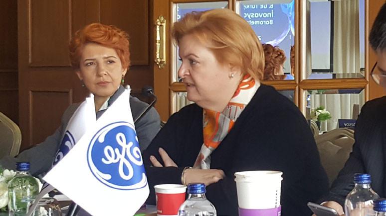 Toplantıya GE Türkiye Yönetim Kurulu Başkanı Canan M. Özsoy evsahipliği yaptı