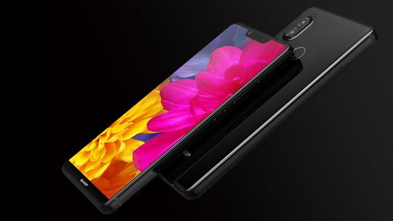 İşte Sharp'ın çerçevesiz akıllı telefonu!