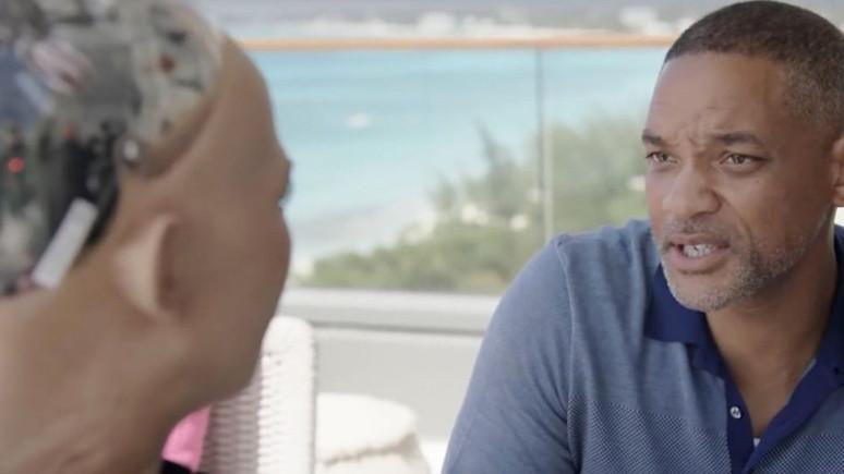 Will Smith, Robot Sophia ile buluştu!