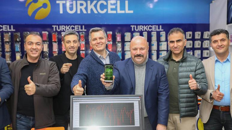 Turkcell 4.5G ile coştu