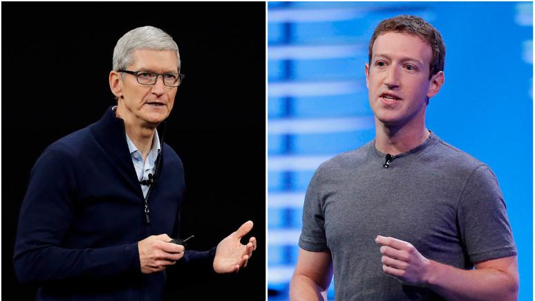 Mark Zuckerberg'den Tim Cook'a ayar