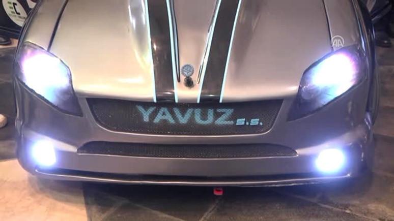 KTÜ'de hibrit otomobil üretildi!