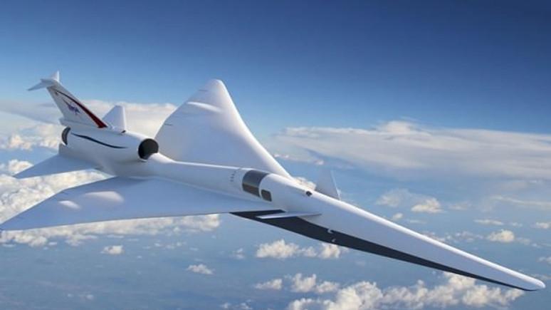 NASA'dan sessiz uçak geliyor!
