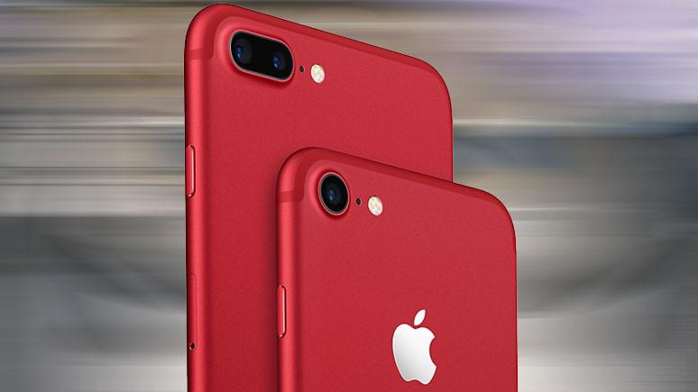 Apple kırmızı iPhone 8 çıkarabilir!