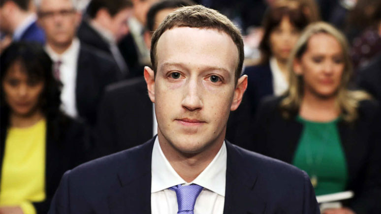 Mark Zuckerberg de mağdur
