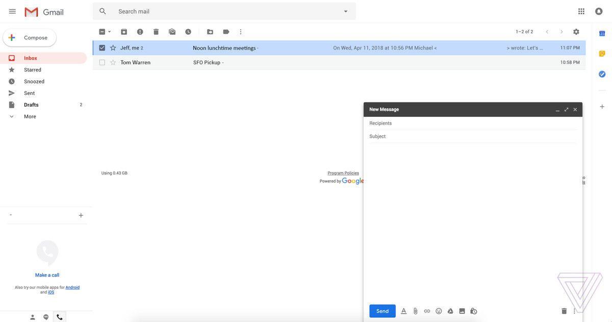 Gmail tasarımını yeniliyor - Page 4