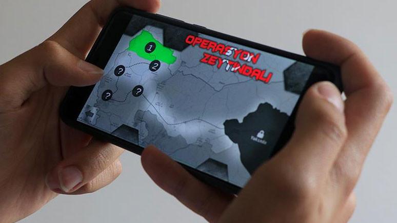 Zeytin Dalı Harekatı'nı mobil cihazınızda canlandırın