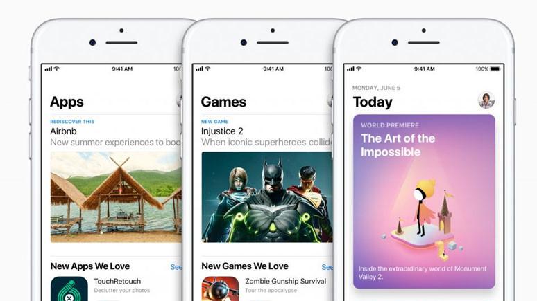 Yeni App Store tasarımı coşturdu
