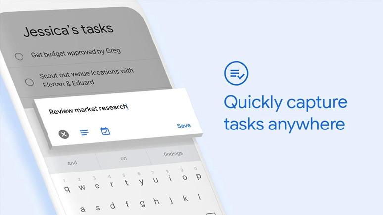 Yapılacak işler Google Görevler'e emanet