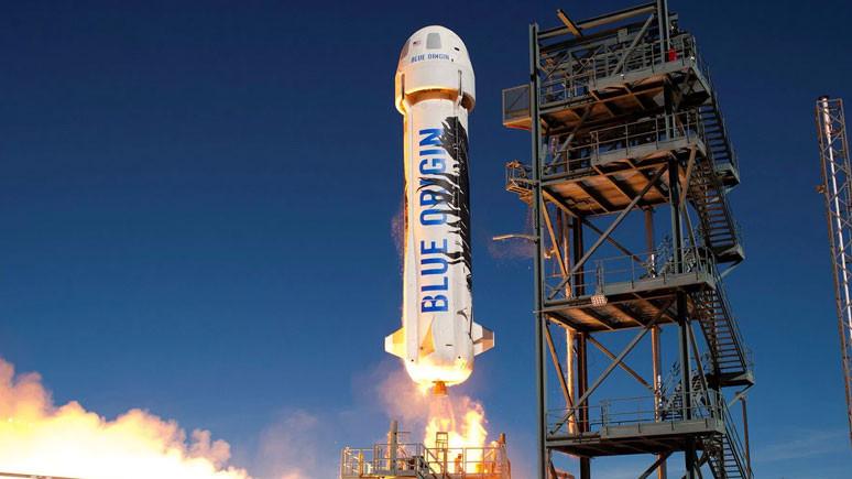 Blue Origin testi başarı ile tamamlandı