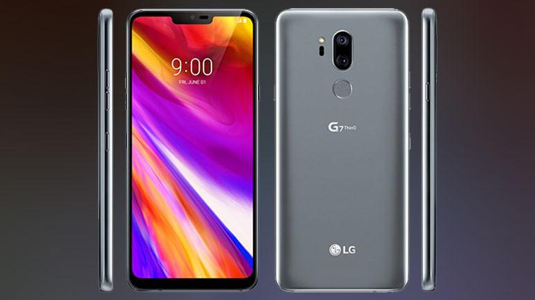 LG G7 ThingQ renk seçenekleri
