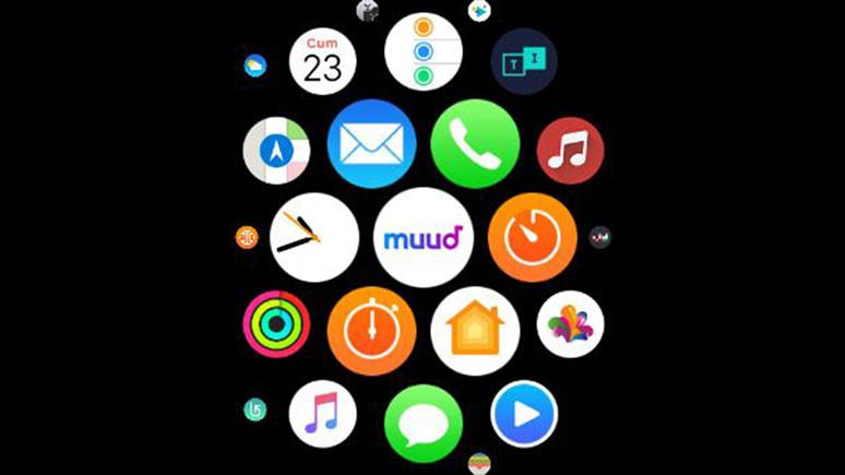 Muud Apple Watch'a geldi