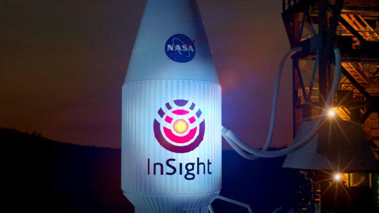 InSight Mars'a doğru yola çıktı