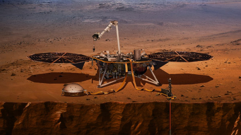 NASA'nın yeni uzay aracı InSight yola çıktı