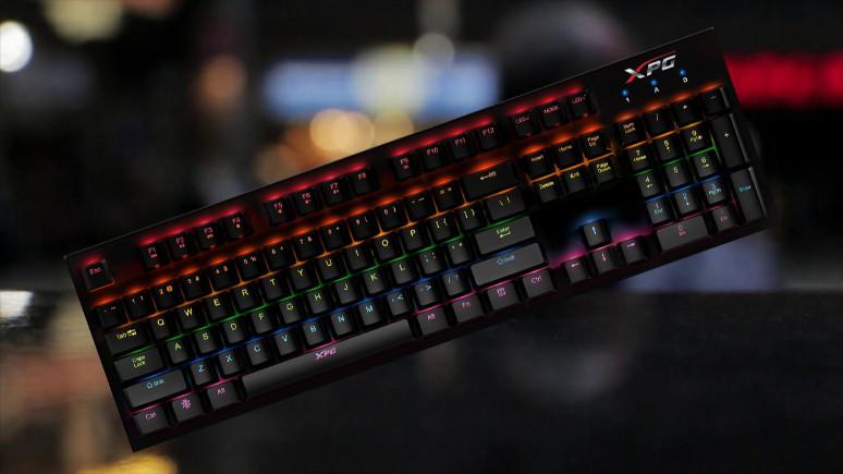 ADATA XPG'den yeni oyuncu klavyesi!