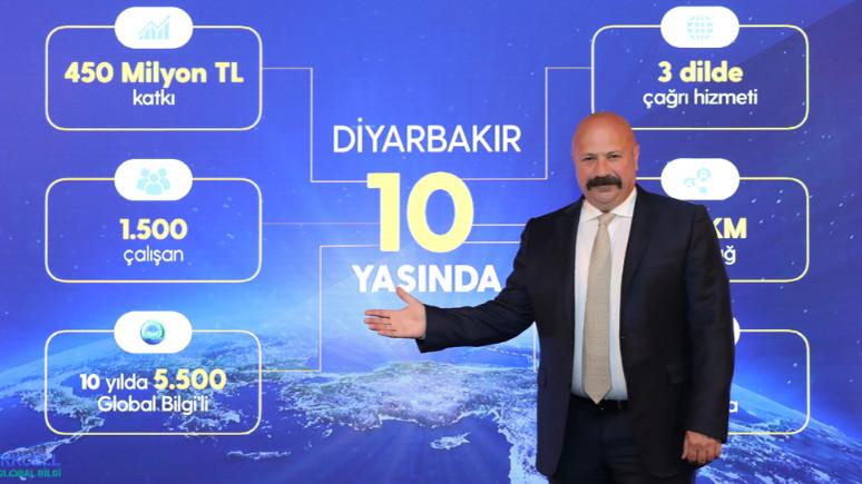 Turkcell'in Diyarbakır çağrı merkezi 10 yaşında!