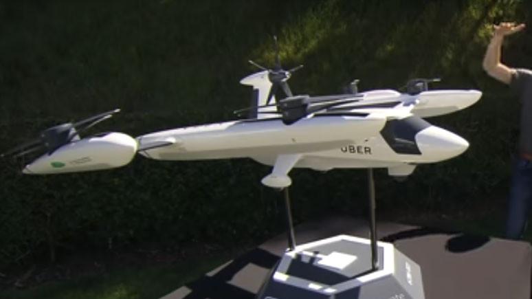 Uber'in uçan taksi prototipi ortaya çıktı