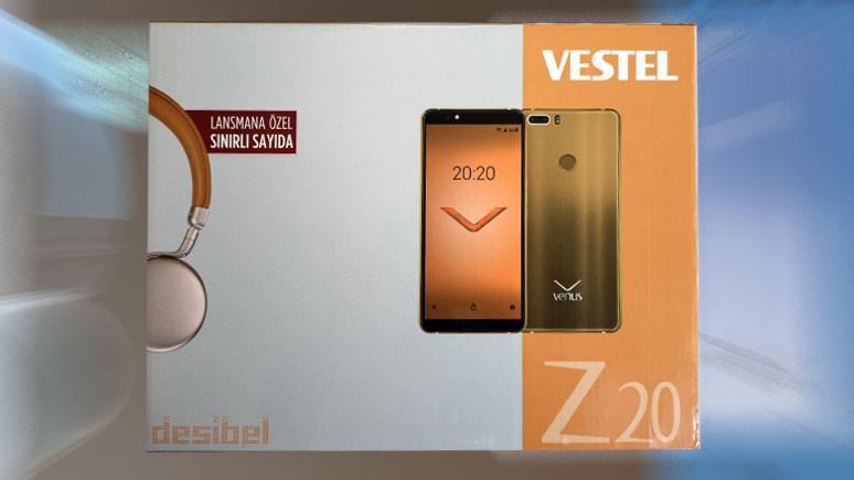 Vestel Venus Z20 kutudan çıkıyor!