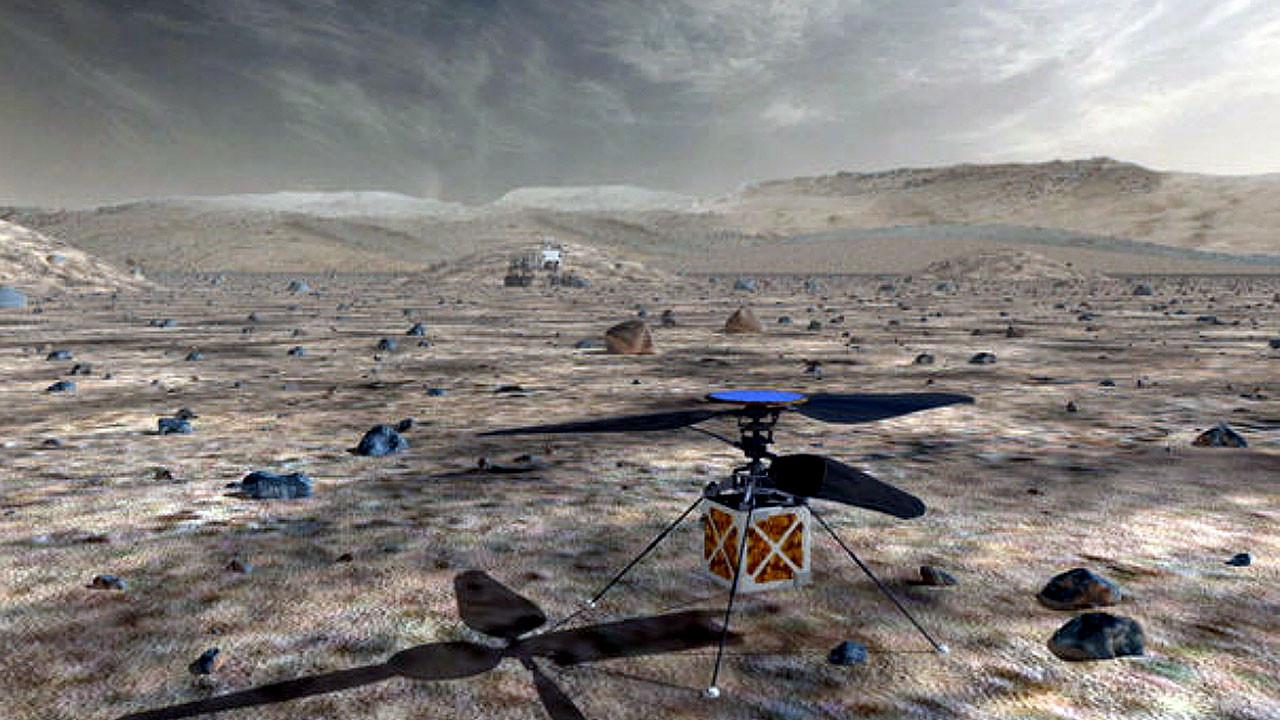 Nasa Mars'a helikopter gönderiyor