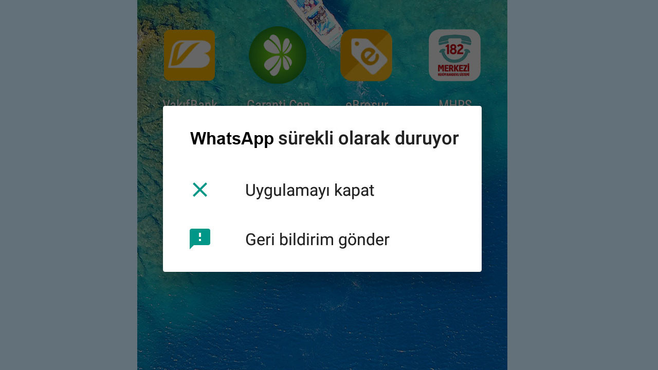 GM 8 WhatsApp ve Instagram sorunu