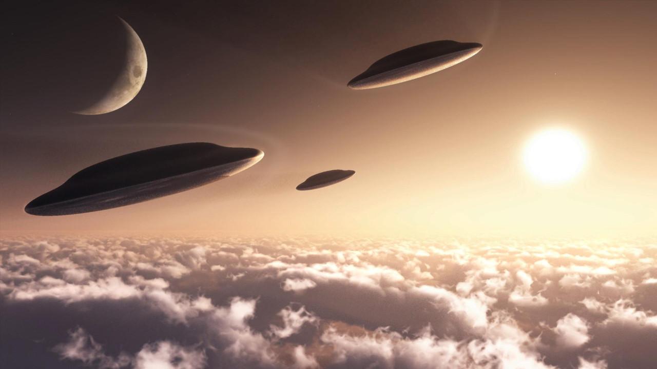 En net UFO fotoğrafları!