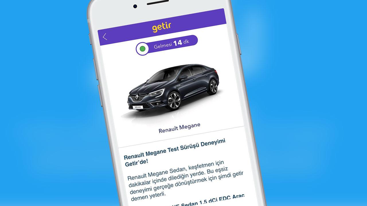 Renault ve Getir'den kapıda test sürüşü kampanyası