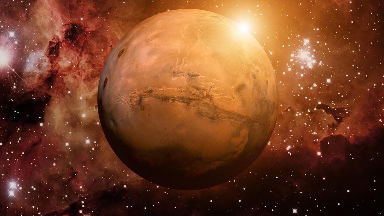 Mars'ta yaşam izi olabilir